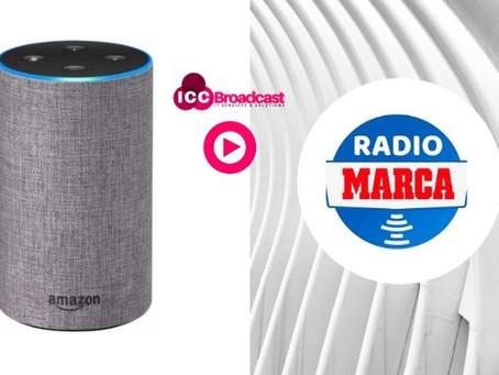 Ya puedes escuchar Radio Marca en los altavoces Alexa