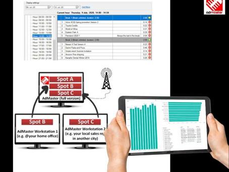 El nuevo software de facturación AdMaster para emisoras de radio y de televisión, a examen