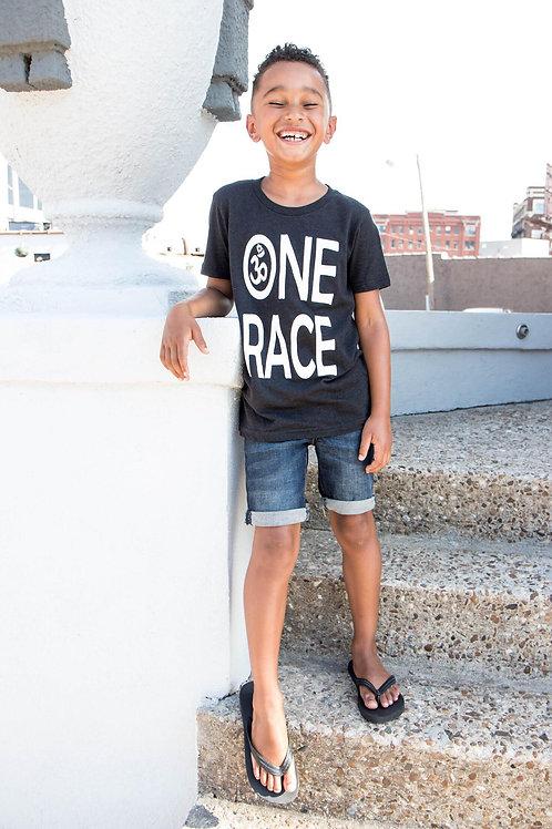 "Jun E Youth ""One Race"" Tee"