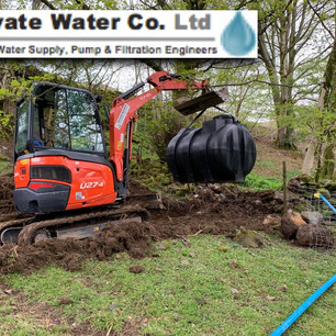 Stream, well, borehole and spring private water supplys