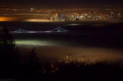 City in Fog.
