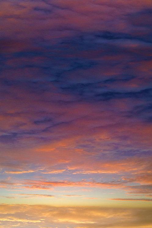 Sunset / Topanga & Mulholland / 7:44pm