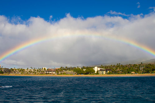 Rainbow over Kaanapali