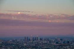 Full moon rises over LA Summer A 21