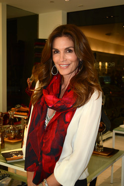 Cindy Crawford in Roses Red