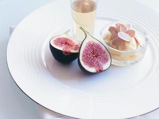 In Season | Toasted Almond Mascarpone Figs