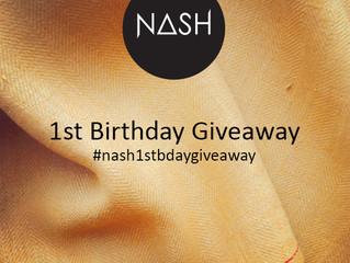NASH is turning 1