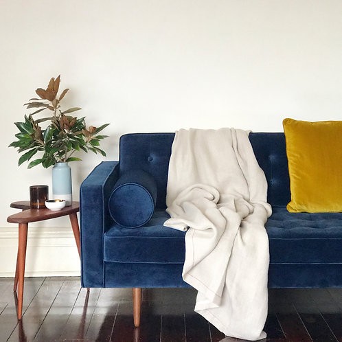 HLIN Throw Blanket - Natural