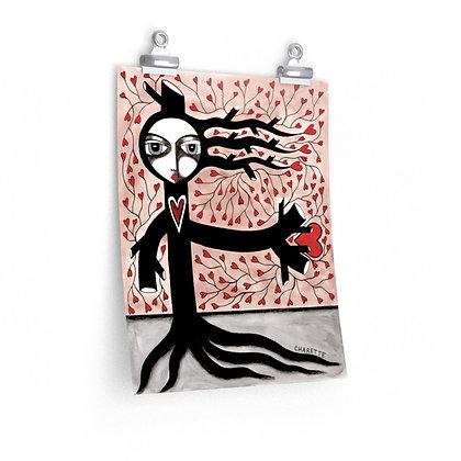 """""""SKELETON KEY 5"""" FINE ART PRINT ON PAPER BY ARTIST DANIELLE CHARETTE"""