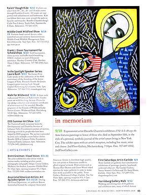 PBS CENTRAL PA MAGAZINE-DANIELLE CHARETTE-ARTIST-ART-PBS