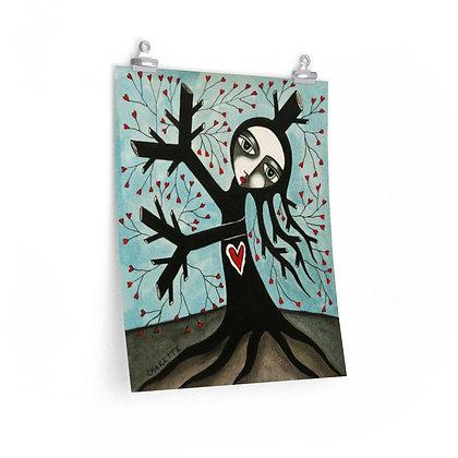 """""""TREE WIDOW 3"""" FINE ART PRINT ON PAPER BY ARTIST DANIELLE CHARETTE"""