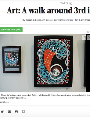 DANIELLE CHARETTE- ART-ARTIST-ART REVIEW-CARLISLE SENTINEL-