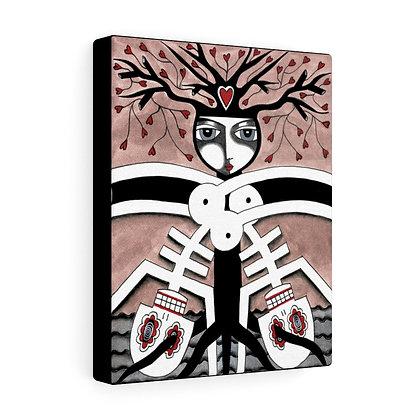 """SKELETON KEY #2""  FINE ART PRINT ON CANVAS BY ARTIST DANIELLE CHARETTE"