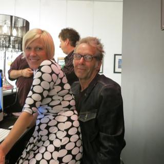 ARTIST DANIELLE CHARETTE AND RICHARD REI