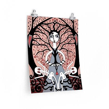 """PROTECTION"" FINE ART PRINT ON PAPER BY ARTIST DANIELLE CHARETTE"