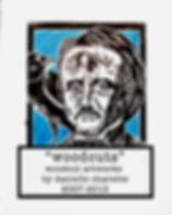 view woodcut original art prints by artist danielle charette of horror, film noir, gothic, b-movie portraits of edgar allan poe, noseferatu, vincent price, bela lugosi, the munsters, day of the dead