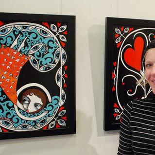 Danielle Charette Artist Solo Art Show