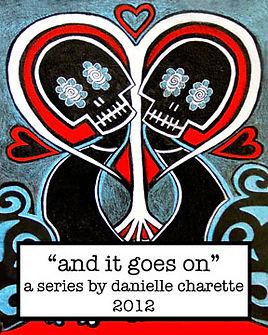 Original Art and Paintings of Danielle Charette, Contemporary Artist Danielle Charette