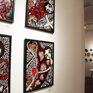 ARTIST DANIELLE CHARETTE PAINTINGS IN SE