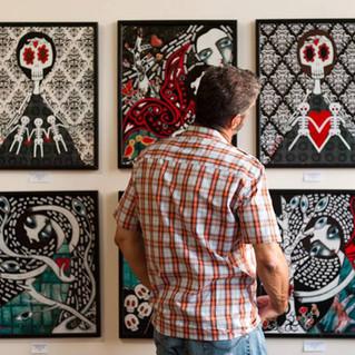 ARTIST DANIELLE CHARETTE ART STAR HOUSE GALLERY NY