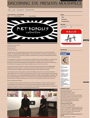danielle charette & richard reilly-metropolis collective interview