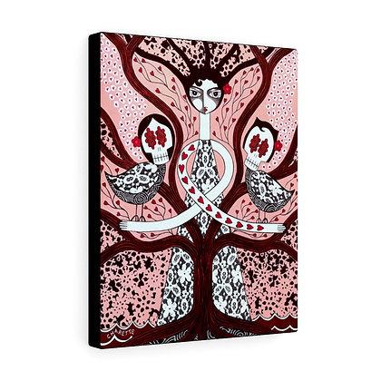 """EVEN THE BIRDS..."" FINE ART PRINT ON CANVAS BY ARTIST DANIELLE CHARETTE"