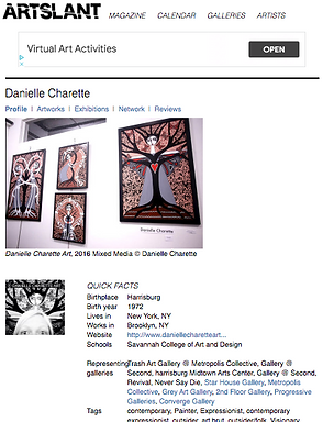 artslant-danielle charette-artist-female