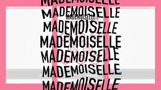 MADEMOISSELLE BY LAURE BRENDER - PROMO WEBISTE