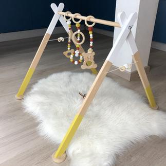 Modele Blanc Brique et Moutarde