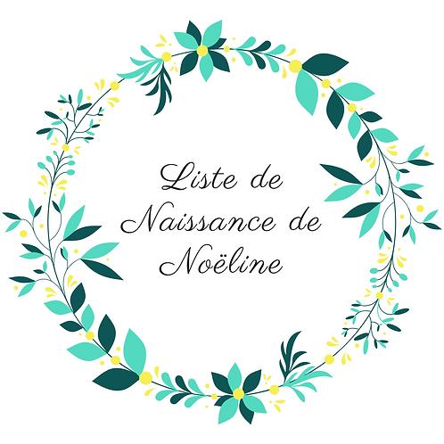 Arche liste de naissance de Noeline