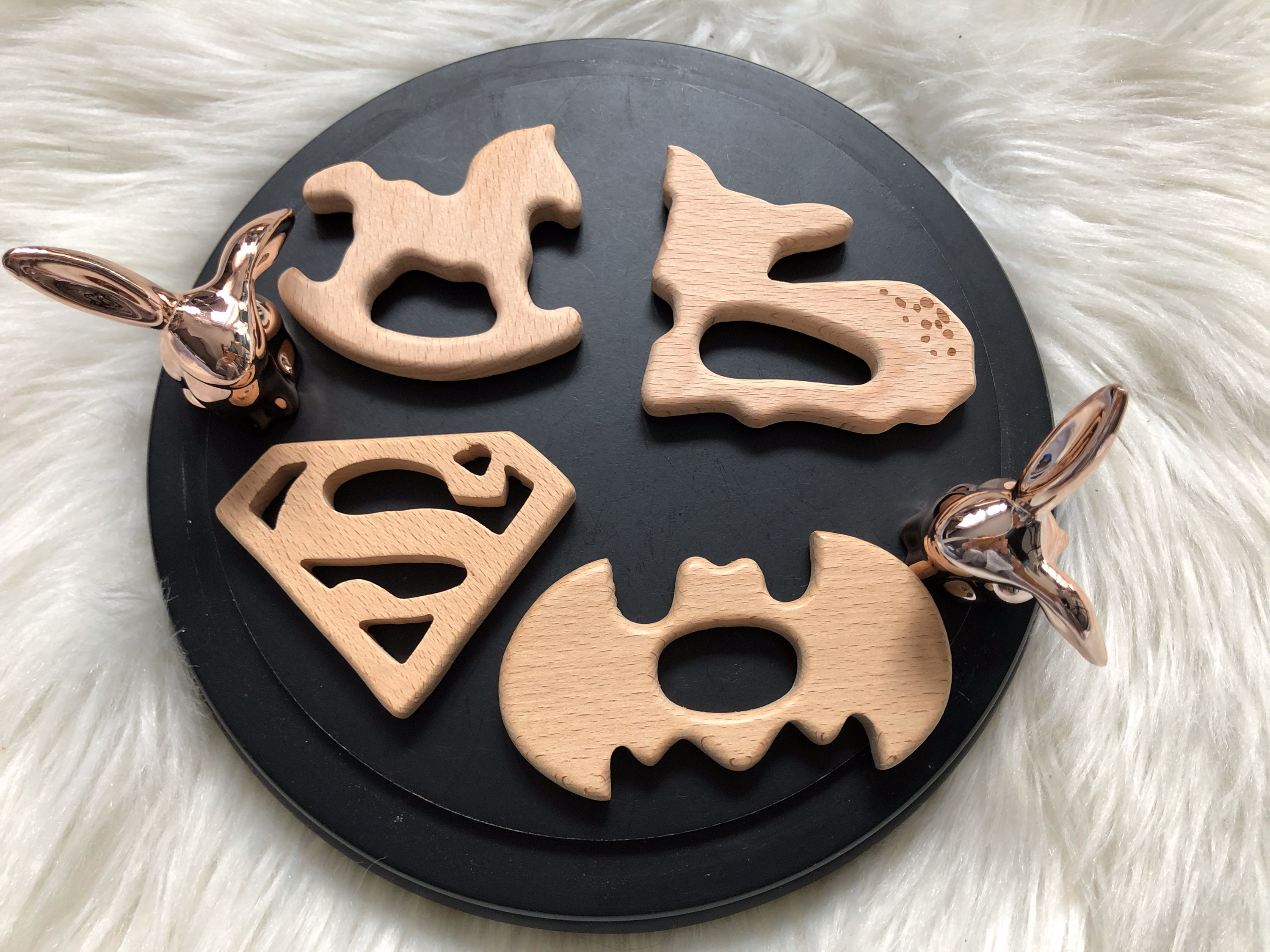 Cheval / Bambi / Batman /Superman