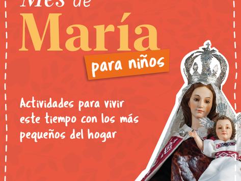 ¡A vivir el Mes de María en familia!
