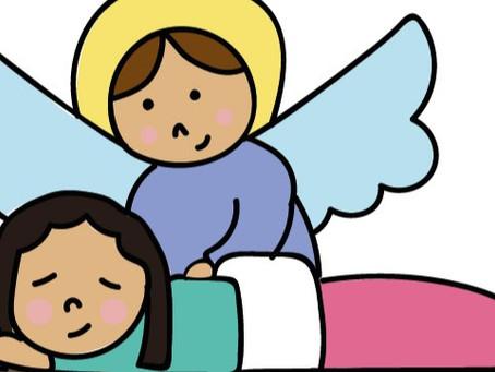 Dios está aquí: Oraciones para rezar con los niños