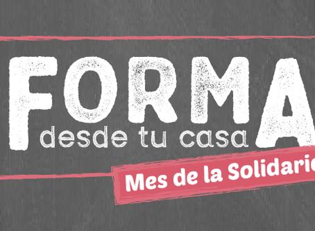 """""""Mes de la solidaridad"""": escucha el nuevo podcast de FORMA"""