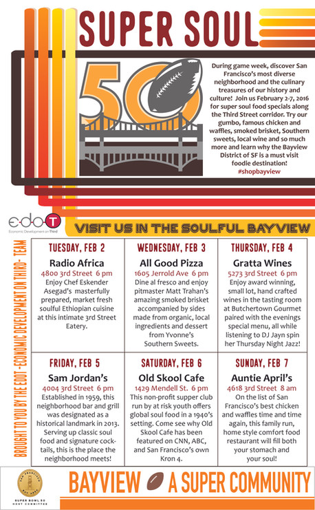 Celebrate Game Week in the Bayview at Super Soul