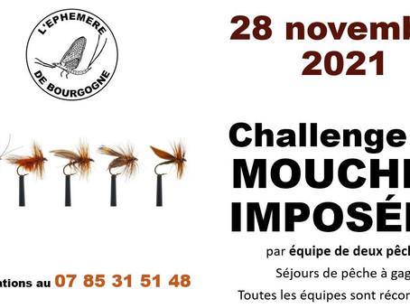Challenge MOUCHES IMPOSÉES à L'Éphémère de Bourgogne, le 28 novembre 2021