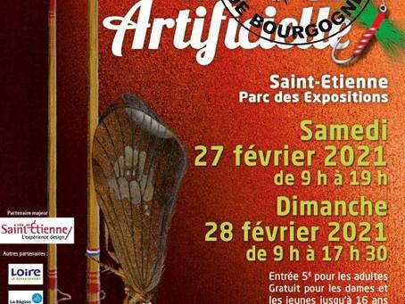 L'Ephémère de Bourgogne sera au 22e Salon InterNational de la mouche artificielle de St-Etienne