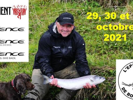 WEEKEND SPÉCIAL CADENCE FISHING Á L'ÉPHÉMÈRE DE BOURGOGNE LES 29, 30 ET 31 OCTOBRE 2021
