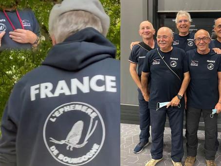 L'Éphémère De Bourgogne sponsor des Vétérans, de l'équipe de France de Pêche à La Mouche !
