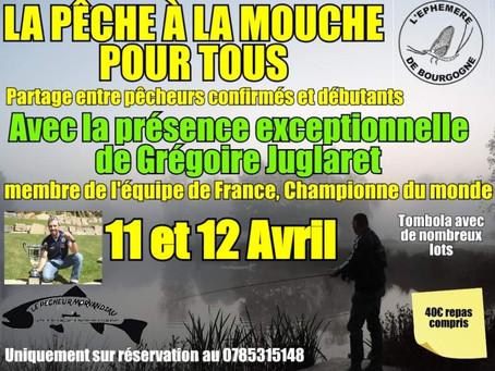 Les 11 & 12 avril 2020, L'Éphémère de Bourgogne reçoit le champion du monde Grégoire Juglaret