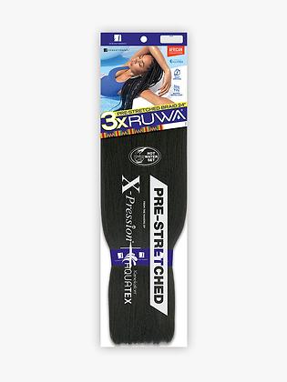 "Sensationnel 3X Pre-Stretched Ruwa 24"""