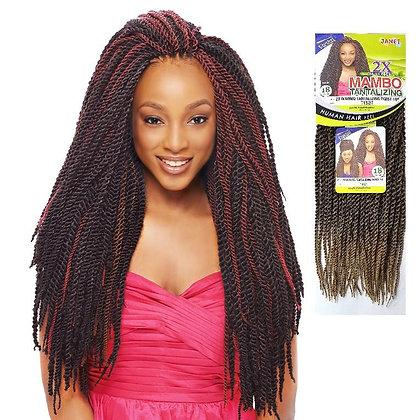 "Janet 2X Mambo Tantalizing Twist 18"""