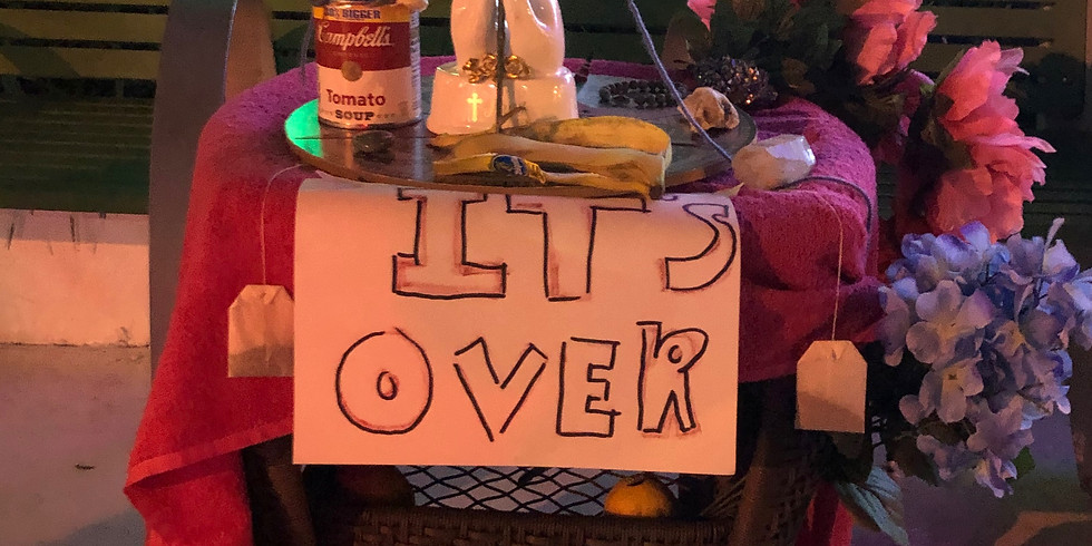 """BlackOUT's Banana: The Massacre of Originality"" Pop-Up Installation"