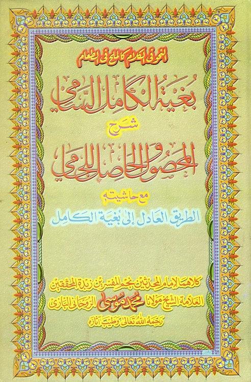 Bugyah al-Kamil al-Sami Sharah al-Mahsul wa al-Hasil lil Jami