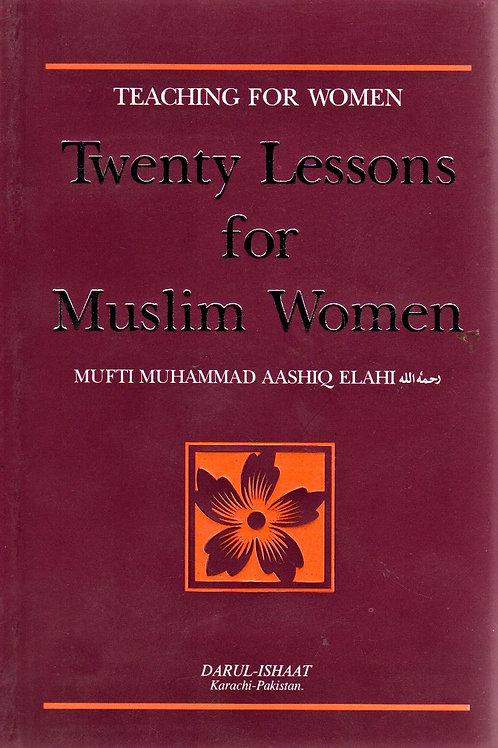 Twenty Lessons for Muslim Women