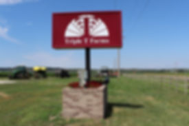 Triple T Farms Sign