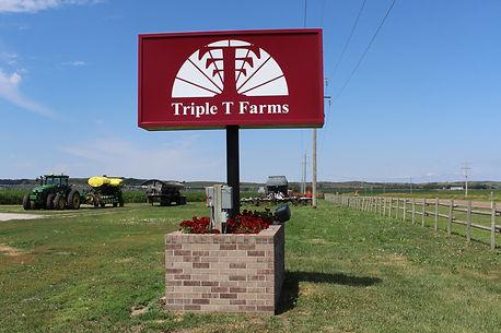 Triple T Farms Sign