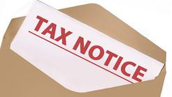 Tax Certification Notice
