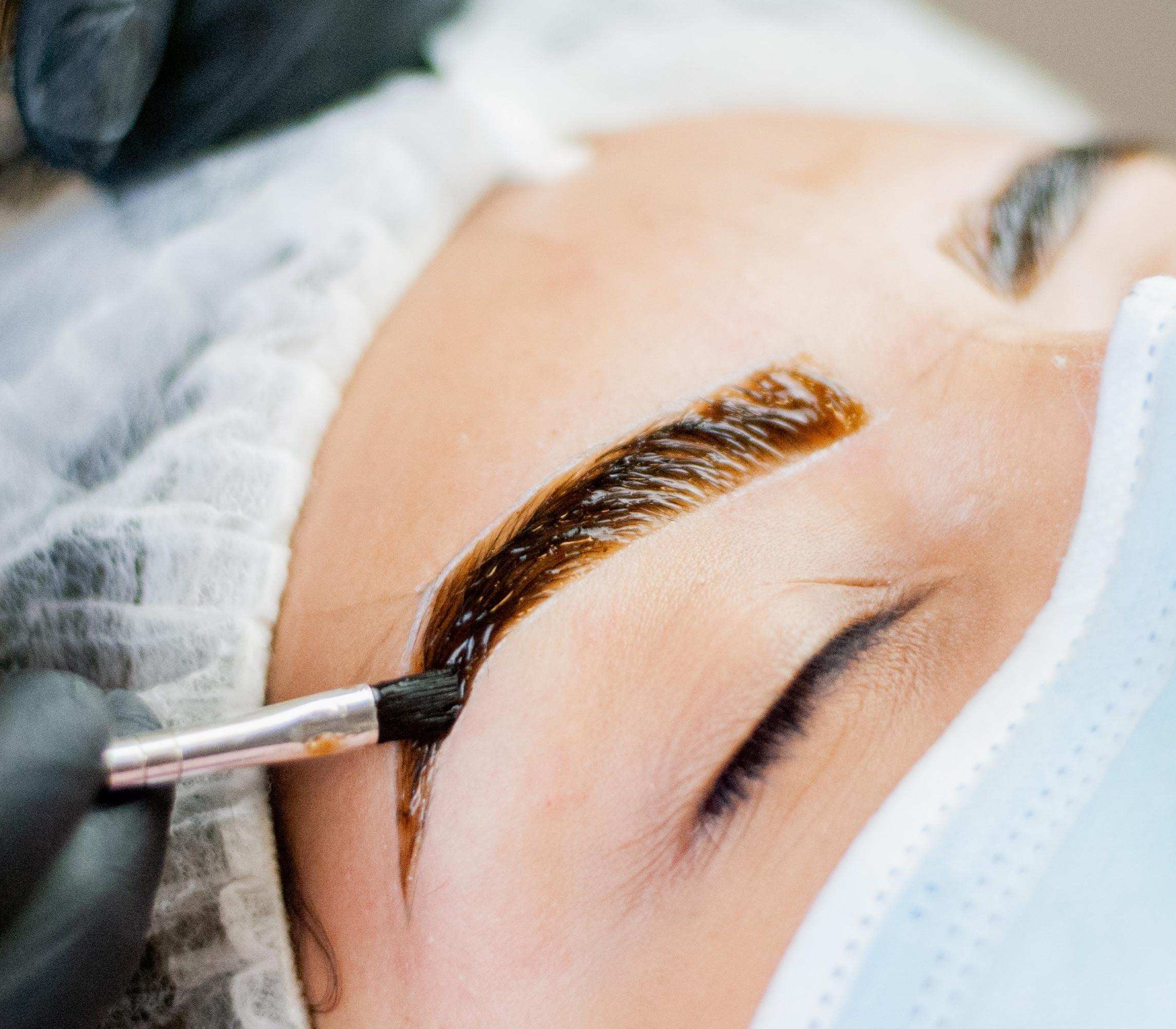 Eyebrow Design + Henna