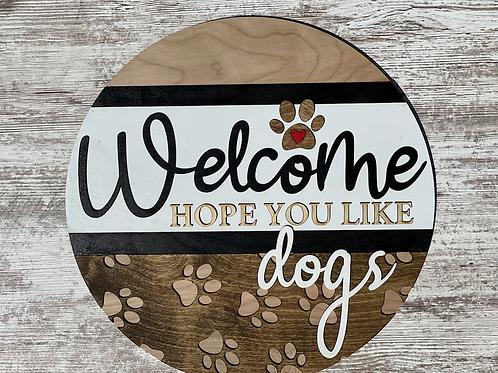 Welcome Hope you Like Dogs